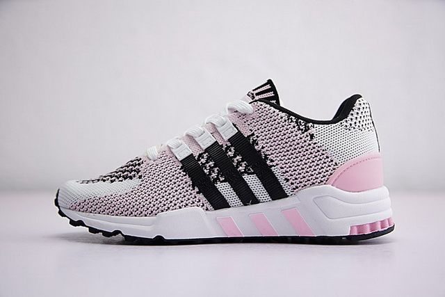 online retailer db7b1 8dc02 adidas Equipment Support RF Primeknit Wonder Pink Core Black Footwear White  Sneakers Discount BY9601