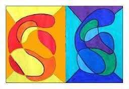 Resultado de imagen para trabajos de arte para niños con los colores complementarios
