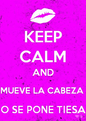 Susy Diaz, peru, keep and calm