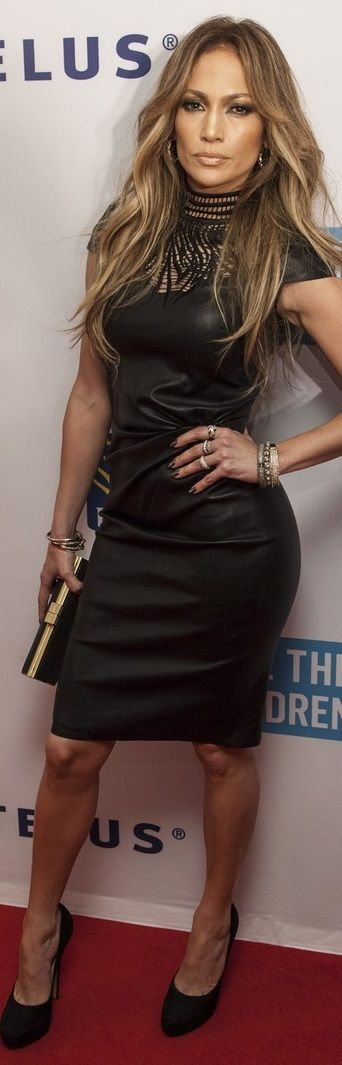 Jennifer Lopez in Jitrois at 'We Day' Event in Vancouver