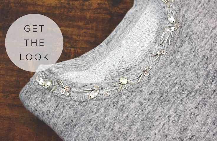 For the Makers - get this embellished look on your own!