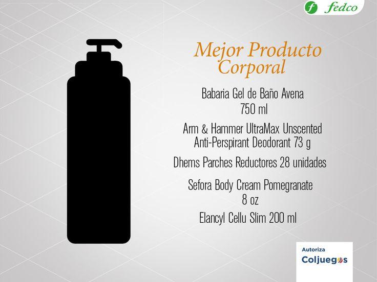 Vota por tu producto favorito en http://premiosdelabellezafedco.com/