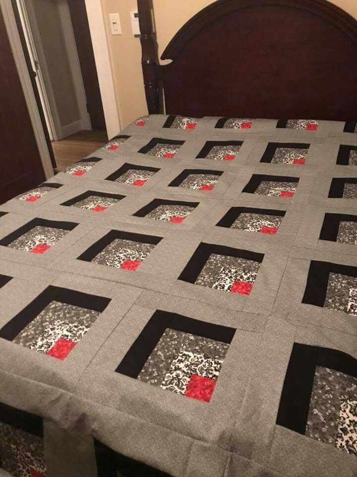 I Am Mesmorised By This Quilt Don T Want To Make It Just To Look A This Pic Steppmuster Patchworkmuster Patchwork Und Quilten