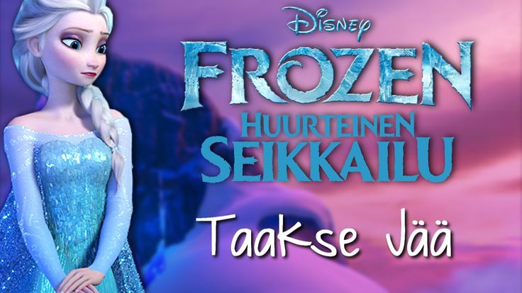 Frozen - Let It Go (Finnish) subs&trans HIGH QUALITY!