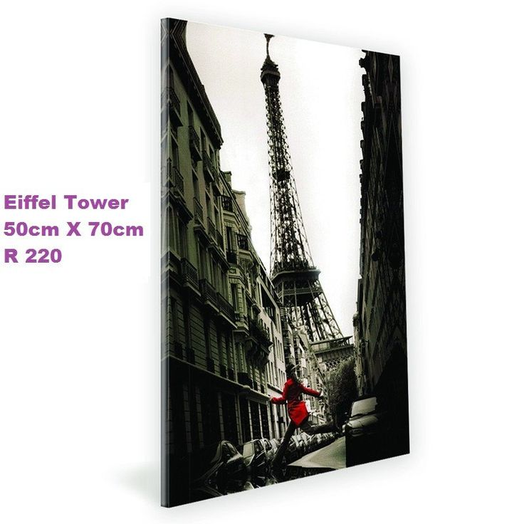 State of the art decoration canvas - Eiffel Tower