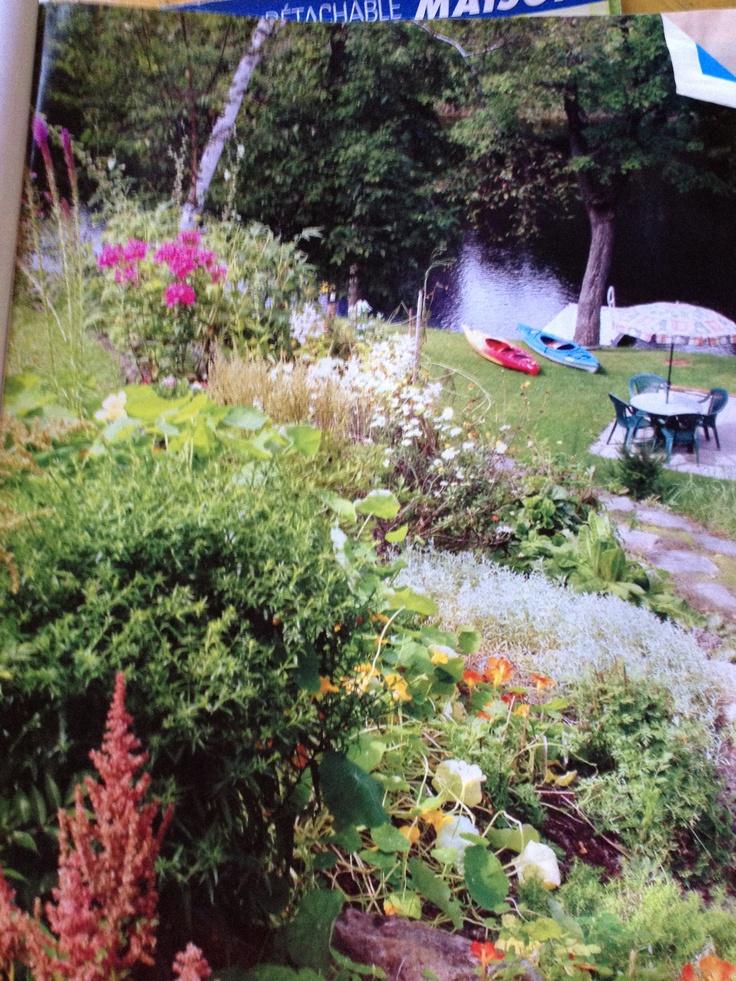 jardin l 39 anglaise chalet pinterest. Black Bedroom Furniture Sets. Home Design Ideas