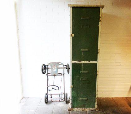 2 deurs locker by www.studiogespuis.nl #locker