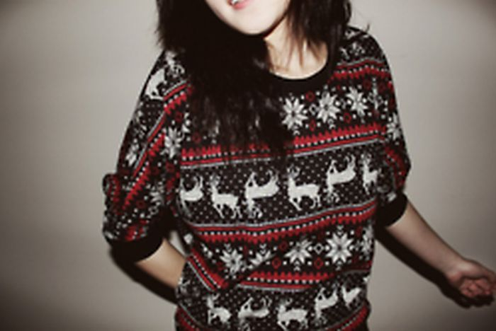 Christmas sweater.