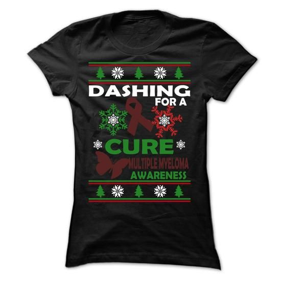 Dashing - Multiple Myeloma - #funny tshirts #vintage shirts. WANT THIS  => https://www.sunfrog.com/LifeStyle/Dashing--Multiple-Myeloma-Ladies.html?60505