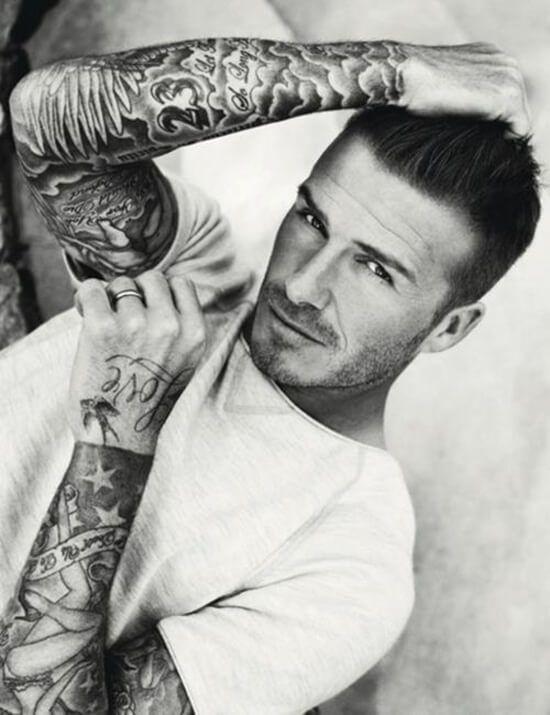David Beckham Full Sleeve Tattoo Ideas
