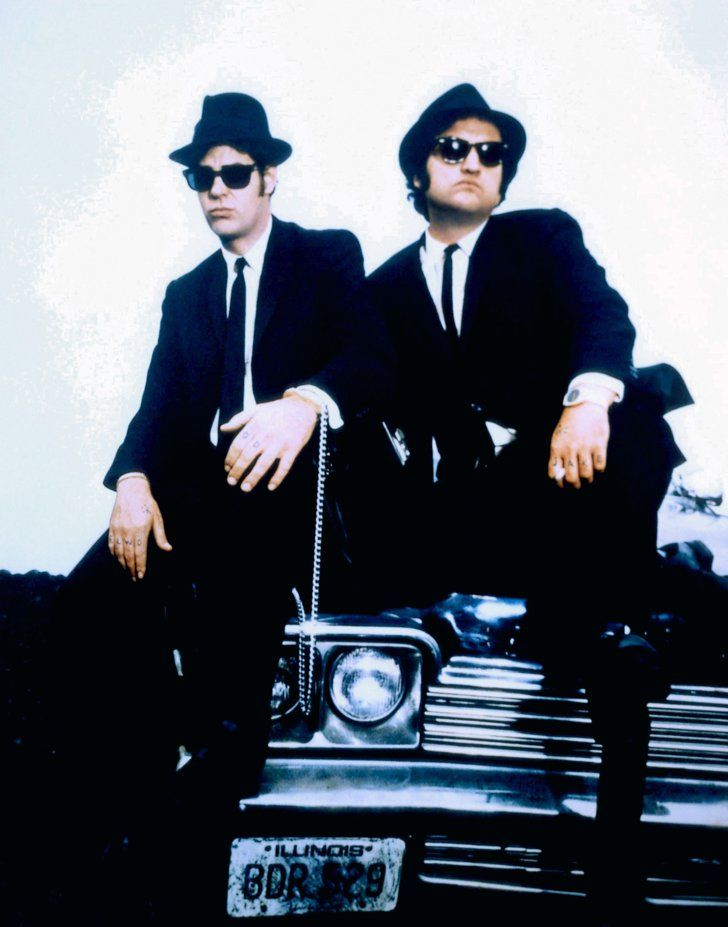 Pin for Later: 38 Pop-Culture Halloween Costumes For Brothers Jake and Elwood Blues From The Blues Brothers