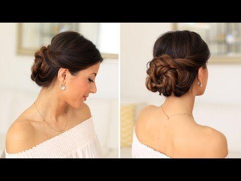 2 Minute Elegant Bun Hair Tutorial