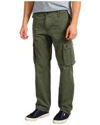 Pantalón Cargo Verde Oscuro