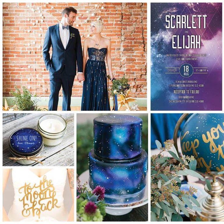 Ideas for your Galaxy Geek Sci Fi wedding