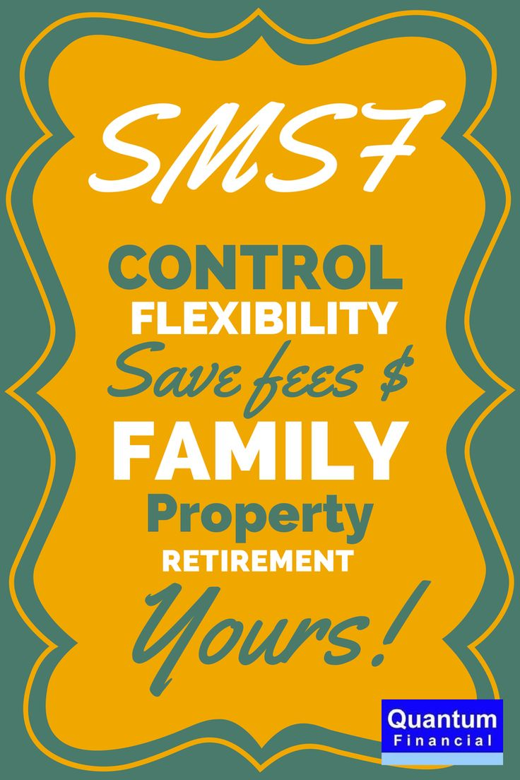 The benefits of running your own #SMSF Quantum Financial provides award winning Self Managed Super Fund advice.