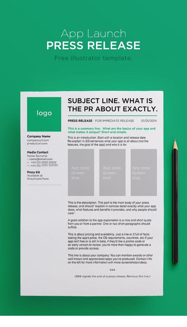 25+ unique Press release ideas on Pinterest Public relations, J - press release template