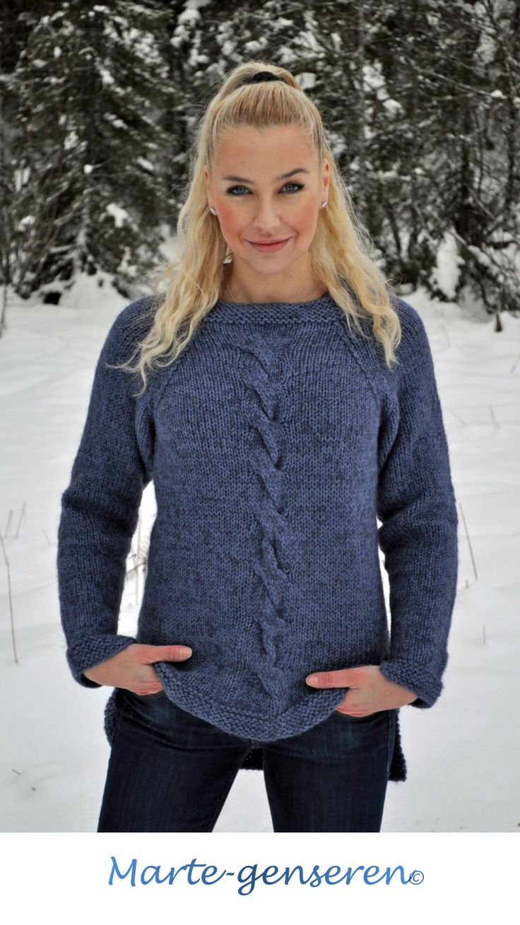 Knitted woman sweather wool