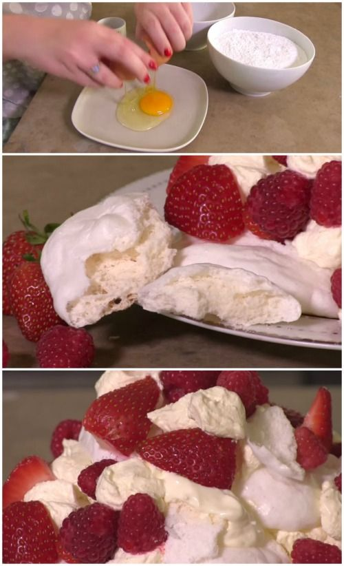 WOW!! Mind Blowing Food Hack: No-Whisk 3 Minute Microwave Meringues