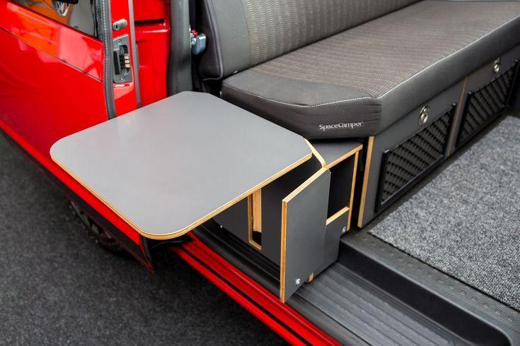 Seitlicher Schrank Mit Klapptisch Materiel Camping Camping Car