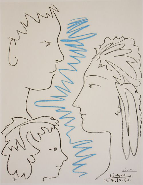 Pablo Picasso, Spanish (1881-1973)  Art et Solidarite  Art and SolidarityArt Picassoart, Famous Artists, Picasso Art, Picasso Drawing, Artists Influence, Picasso Prints, Pablopicasso, Pablo Picasso