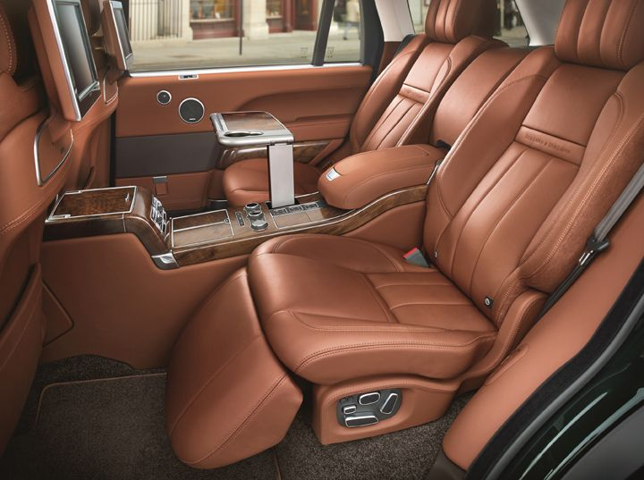 Holland & Holland Range Rover - craftsmanship and refinement.