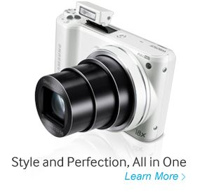 20.3 Megapixel Compact System Camera EV-NX1000BFWUS (White) – Digital Cameras