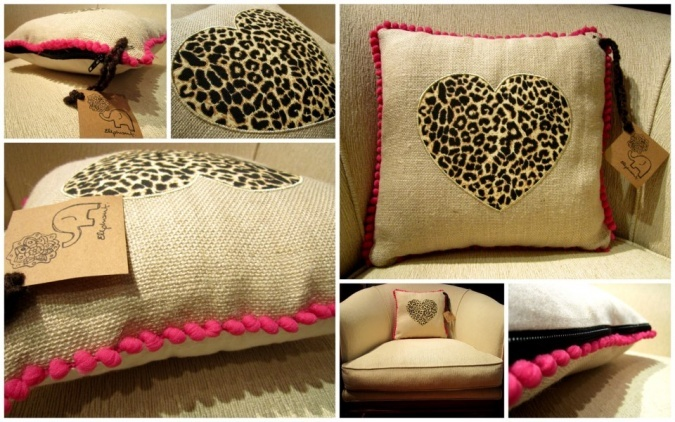 Almohadones Love | Elephant | Feria Central