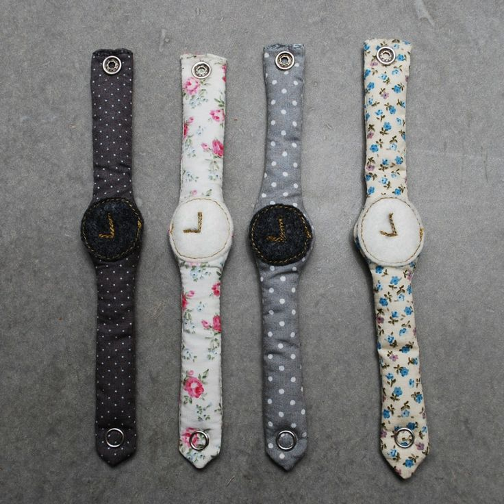 4 watches toy fabric, liberty Numero 74