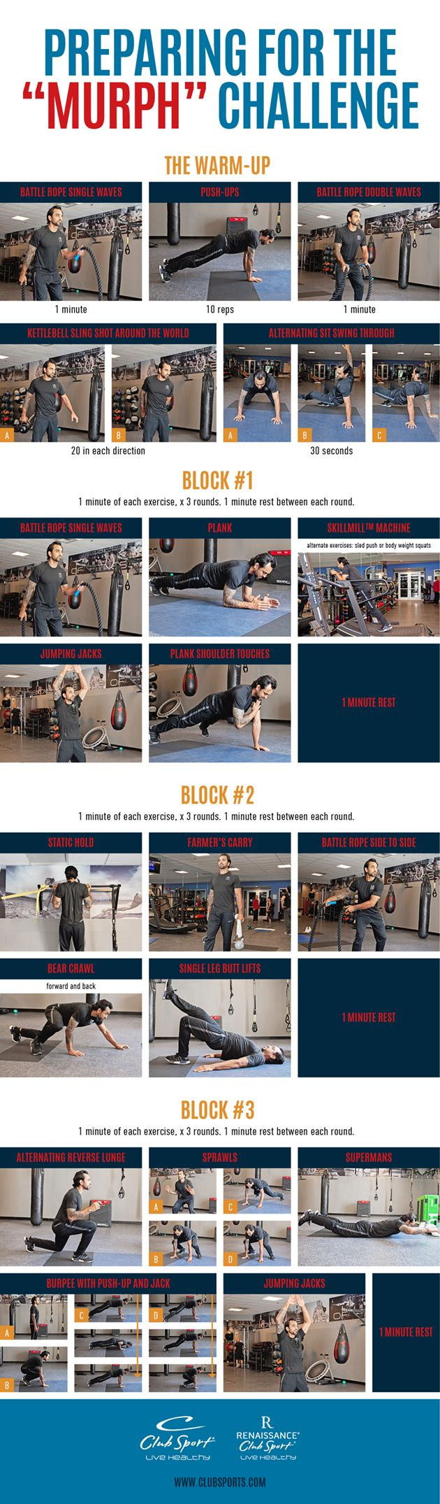 The Murph Workout Pinnable