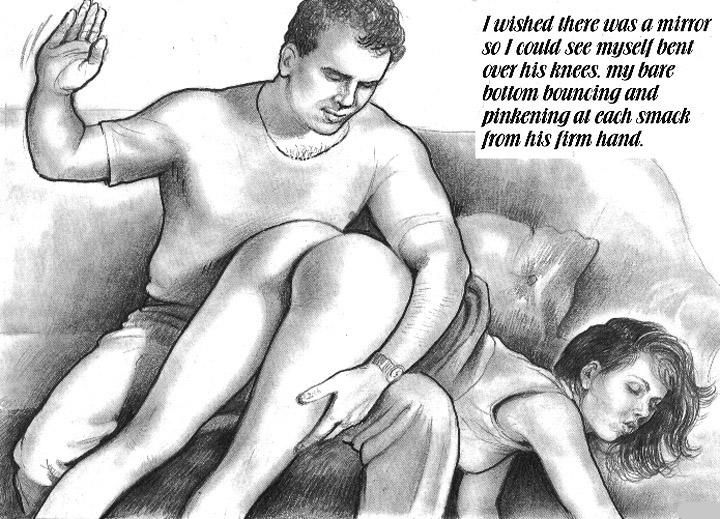 Not simple, adult female spanking male