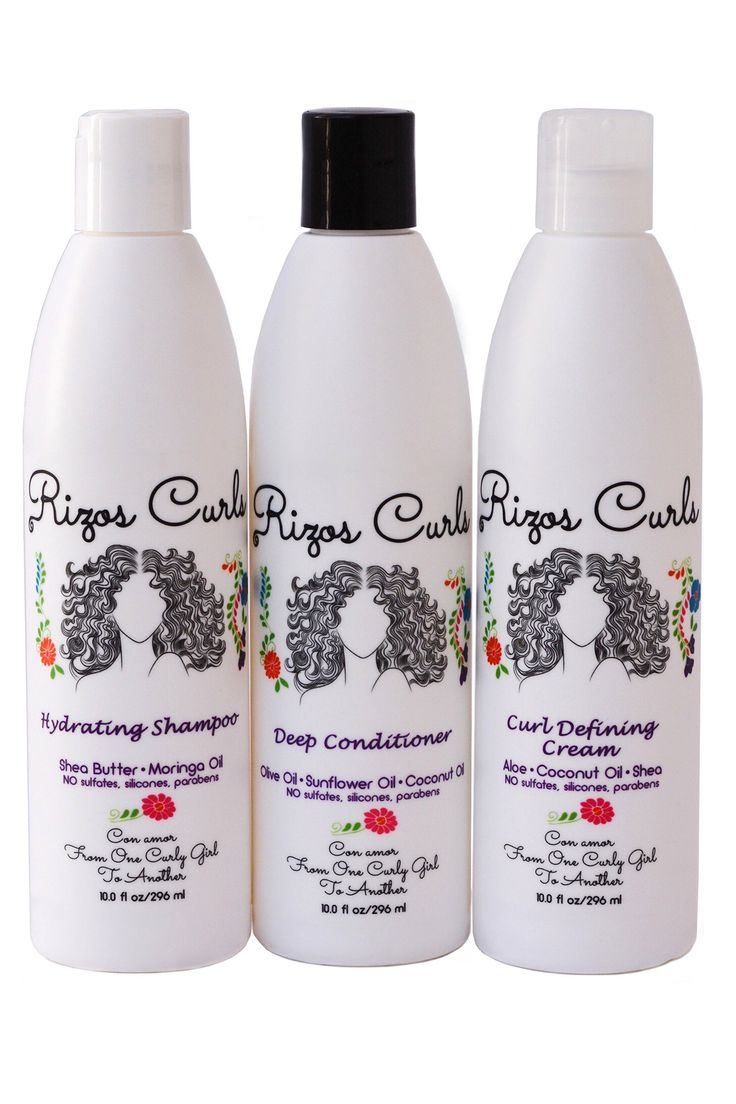 The Rizos Curls Trio in 2020 Hydrating shampoo, Deep