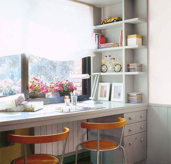 Выбираем письменный стол для двоих детей | http://www.babyroomblog.ru/