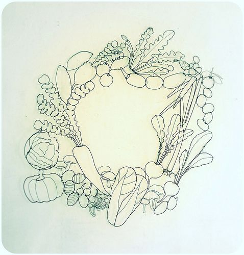 大地のめぐみ | winter vegetable window