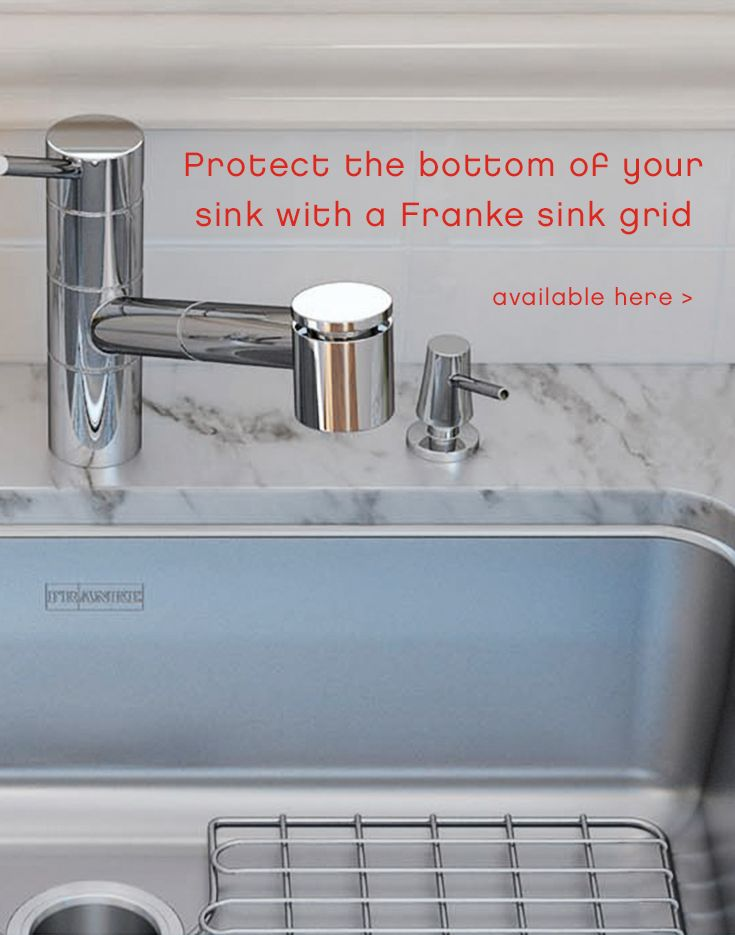 Protect The Bottom Of Your Sink With A Franke Sink Grid Available Here Franke Sink Sink Kitchen Solutions