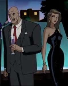 Mercy Graves with Lex Luthor