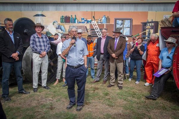 #SteamFest #Tasmania, officially opened by Dick Smith. Photo by Benita Bell of Daydream Photography; article for think-tasmania.com