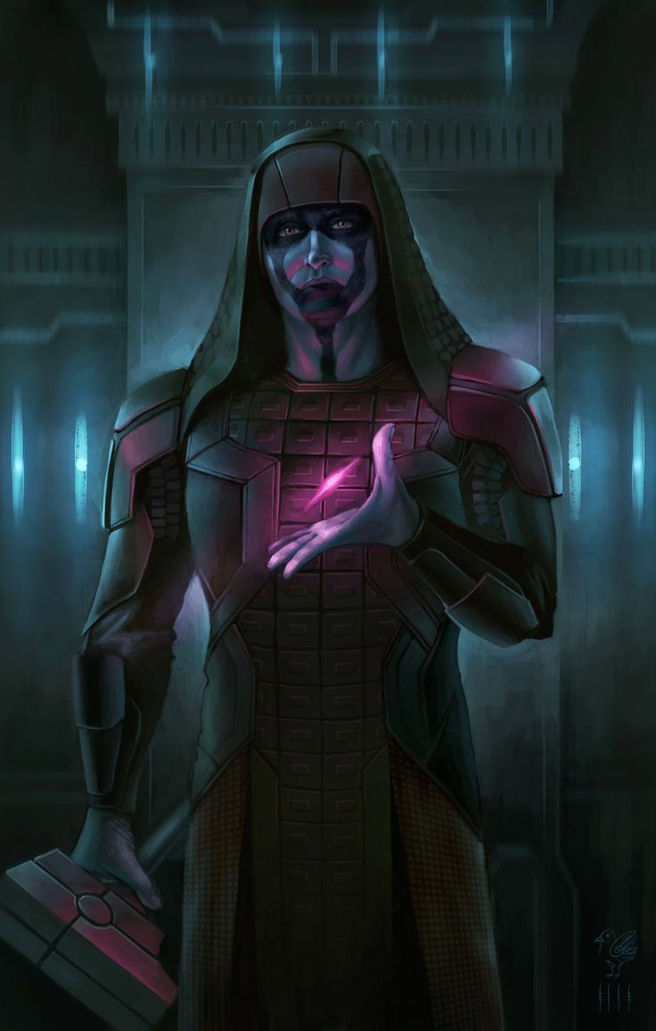 Ronan the Accuser fan art. - movie is Guardians of the Galaxy 2014