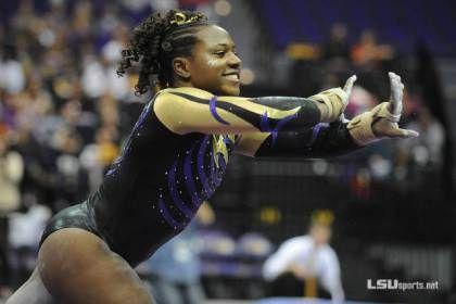 REEEEMIIIIX! LSU Gymnast Scores Perfect 10s With Hip-Hop Influenced Routines (Video)