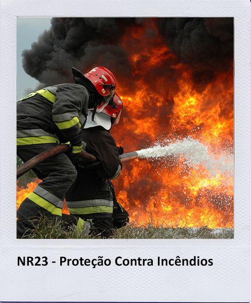 NR23 – PROTEÇÃO CONTRA INCÊNDIOS Objetivo Todos os empregadores devem adotar…