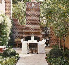 7 best outdoor brick fireplaces images on Pinterest | Decks ...