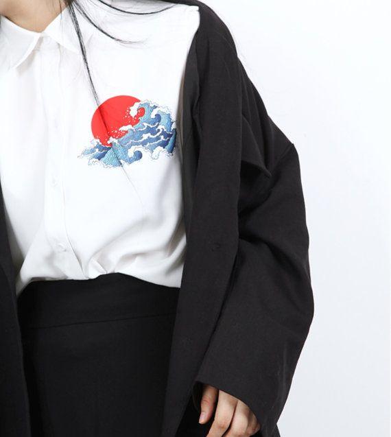 Fine Art Collection japonais vague et lever de par PurpleFishBowl