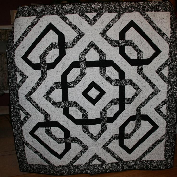 17 best celtic knot quilts images on Pinterest | Celtic knots ... : celtic knot quilt pattern - Adamdwight.com