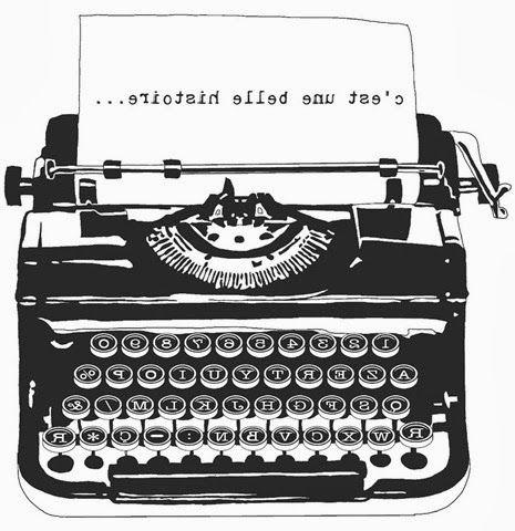 vieja maquina de escribir