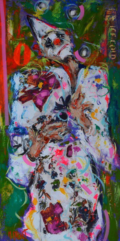 Michel CALVET -  Le clown blanc