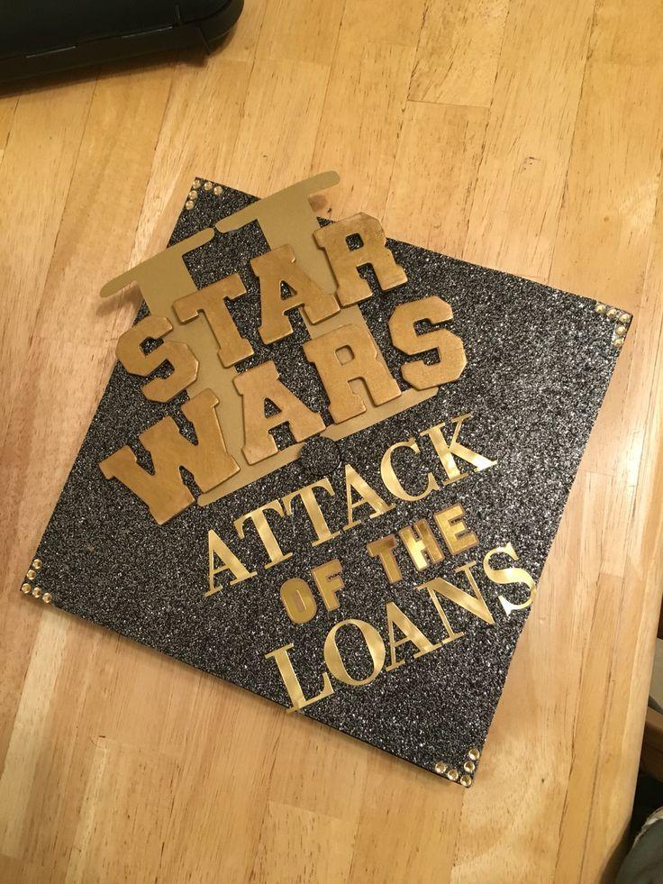 Starwars graduation cap - #graduation #starwars - #DecorationGraduation