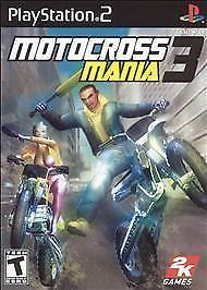 Motocross Mania 3 video game  (Sony PlayStation 2, 2005)
