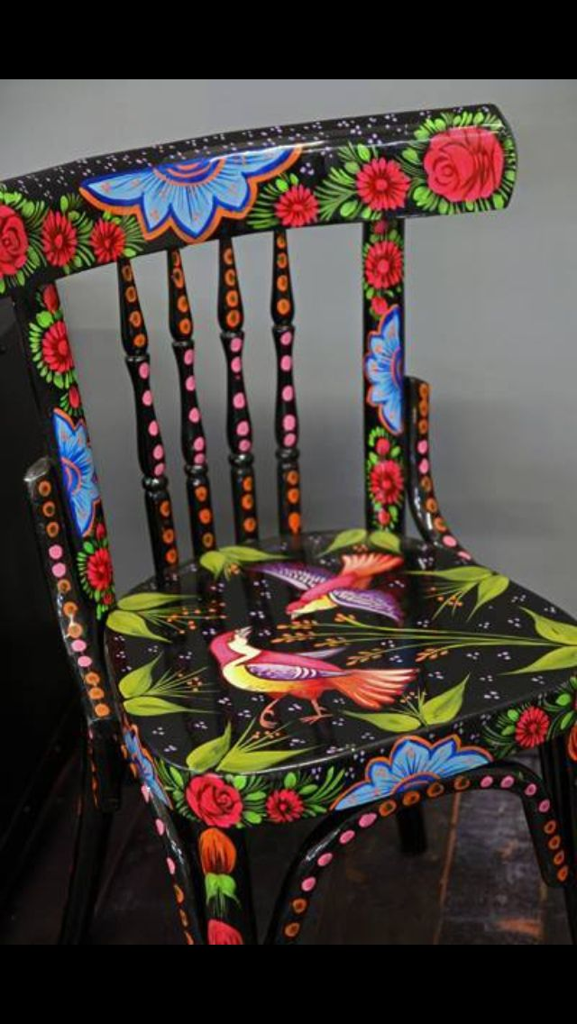 446 Best Images About Chair Art On Pinterest Rocking