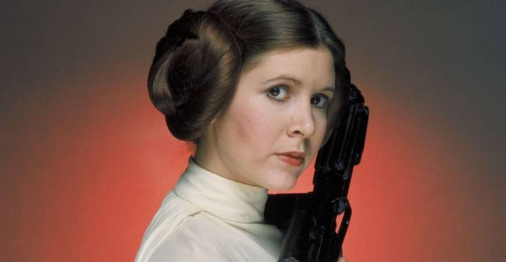 Our dear Princess Leia had been in more movies than just science fiction ones, and rewrote many others