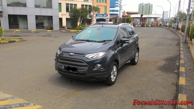 Ford Ecosport Titanium AT AbuMetalik 2014   bln 8 Km16rb Record. Keyless. Airbags.  Sunroof. Leatherseat. Foglamp. DRL Led.  Sensorparking. Voicecommandbluetooth. Audiosteer. KF Solargard.     -Harga Paling Murah: OTR 196JT   Hubungi Team FOCUS Motor:  (Chatting/Message not recommended )  Regina 0888.8019.102 Kenny 08381.6161.616 Jimmy 08155.1990.66 Rudy 08128.8828.89 Subur 08128.696308 Rendy 08128.1812926