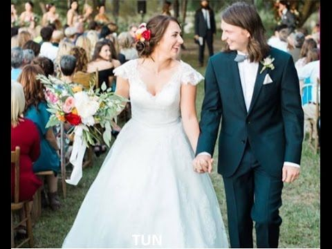 Brighton Thompson's Wedding Dress Married Reed Robertson In Gorgeous Gow...